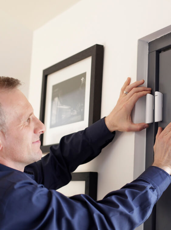installation home alarm